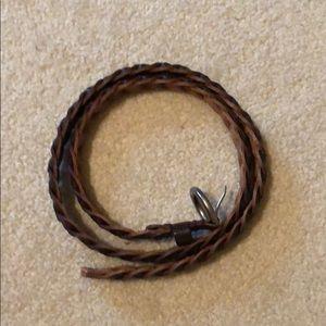 Dark Brown American Eagle Belt